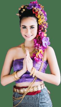 Traditionelle Lanna Kleidung