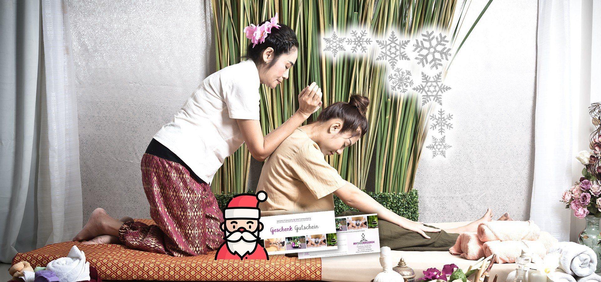 My Thai Massage Köln Weihnachten Gutschein